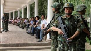 Pékin reproche à Ursula Gauthier un article du 18 novembre dernier dans lequel elle évoquait la répression au Xinjiang (photo)sous couvert de lutte contre le terrorisme,