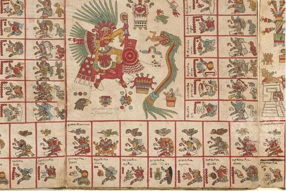 Códice azteca 'Borbonicus'