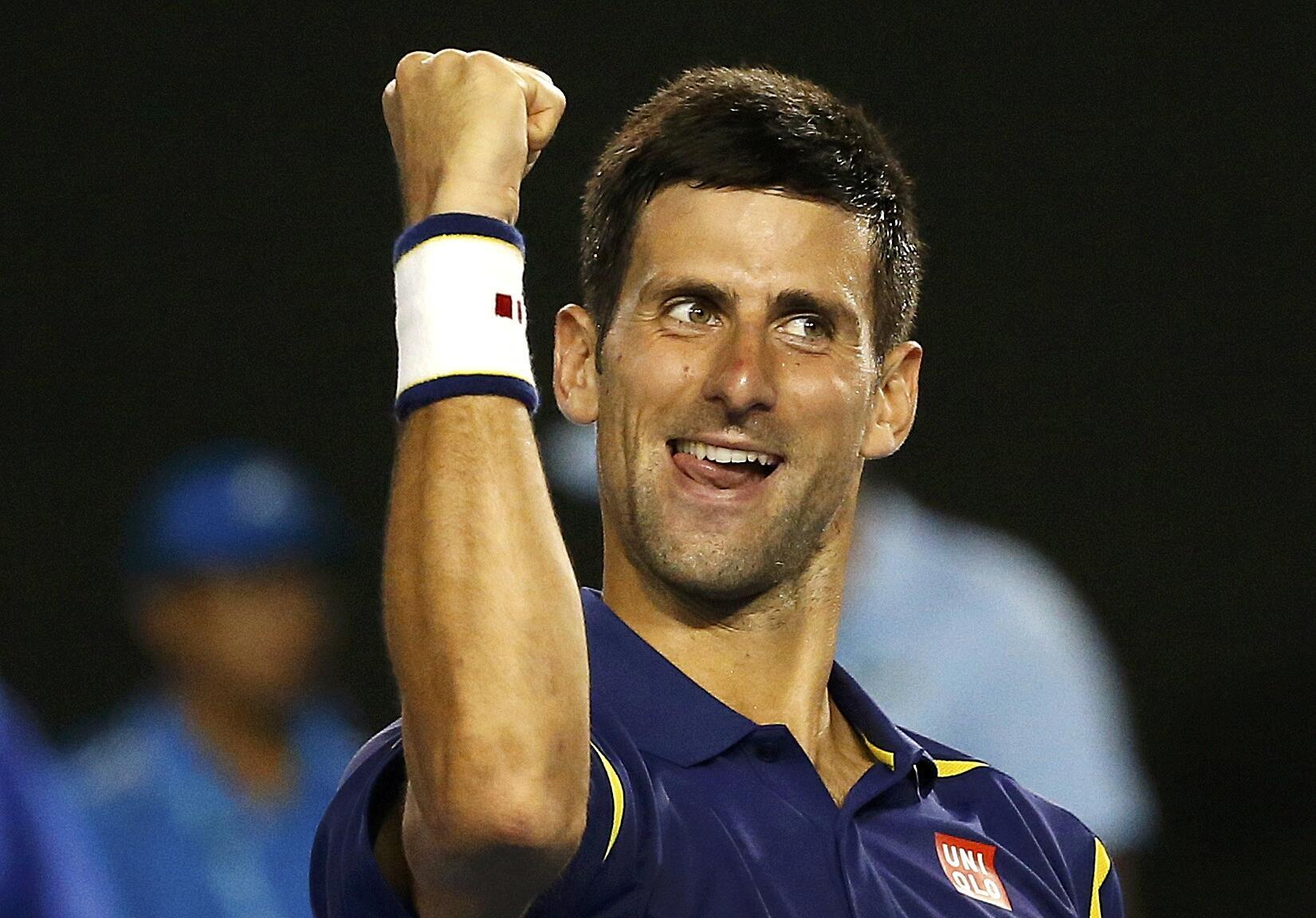 World number one Novak Djokovic will contest his sixth final at the Australian Open.