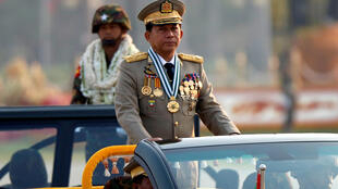 Myanmar's General Min Aung Hlaing, main accused in the UN genocide report