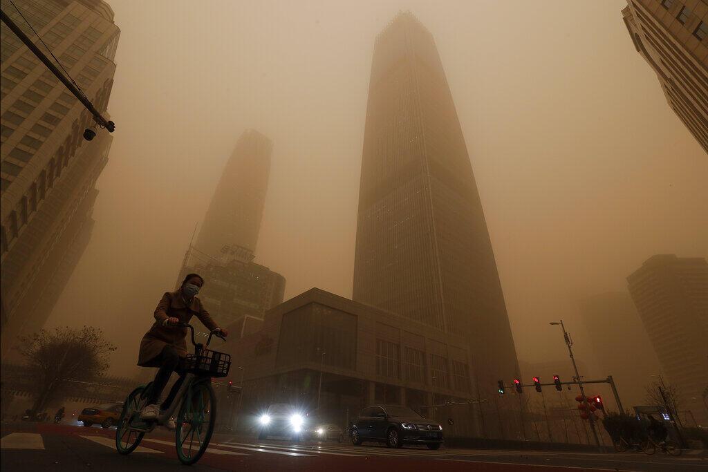 Tempestade de areia China