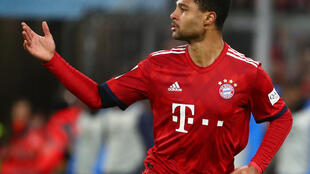 Serge Gnabry scored Bayern Munich's third goal against Schalke.