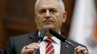 بنعلی یلدیریم نخست وزیر ترکیه