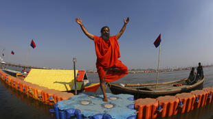 O guru indiano Baba Ramdev