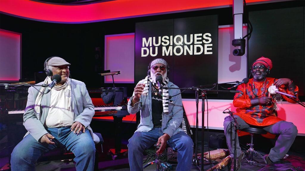 Girma Bèyènè, Mighty Mo Rodgers et Baba Sissoko à RFI.
