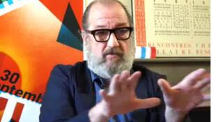Joss de Pauw, acteur et metteur en scène flamand. Concepteur et réalisateur des pièces de théâtre «L'Humanité» et le «Heros».