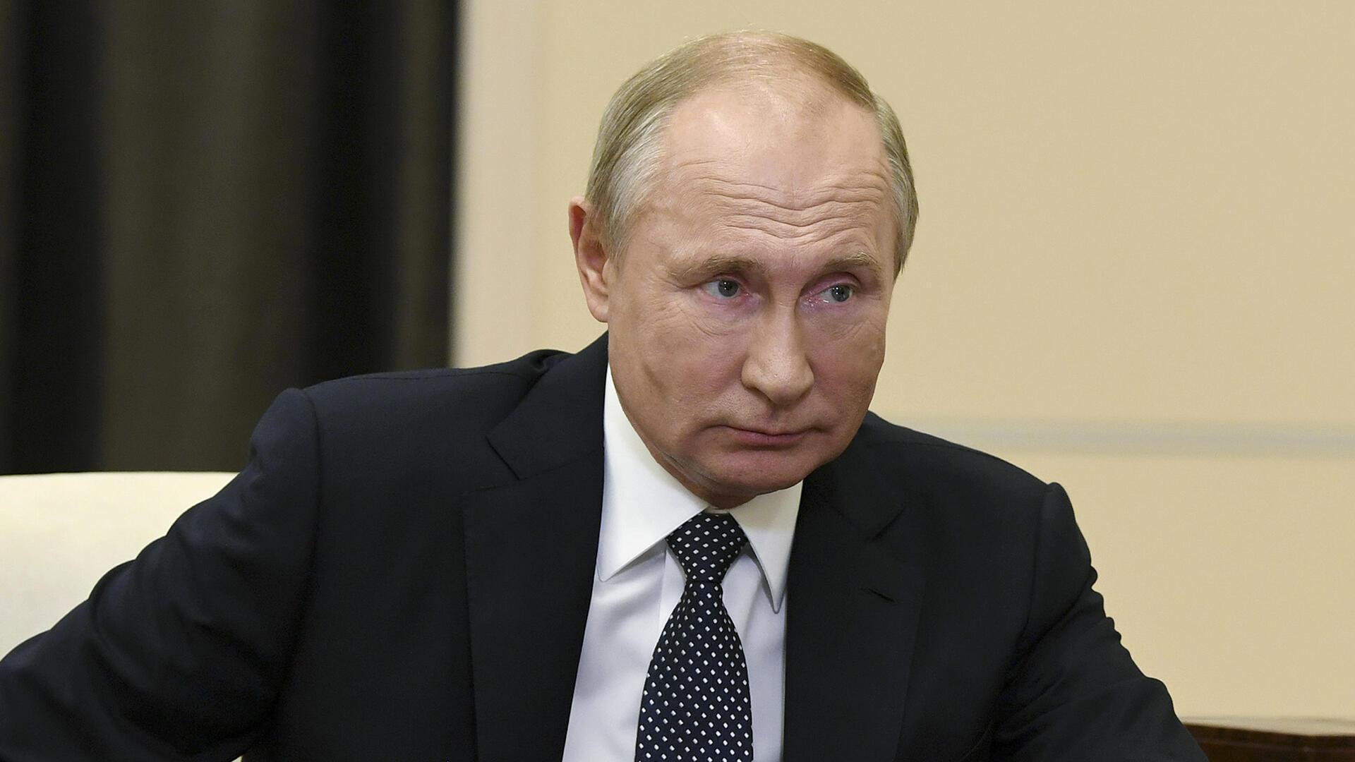 Russie - Vladimir Poutine_AP20326771106124 - Carrefour de l'Europe 21 février 2021