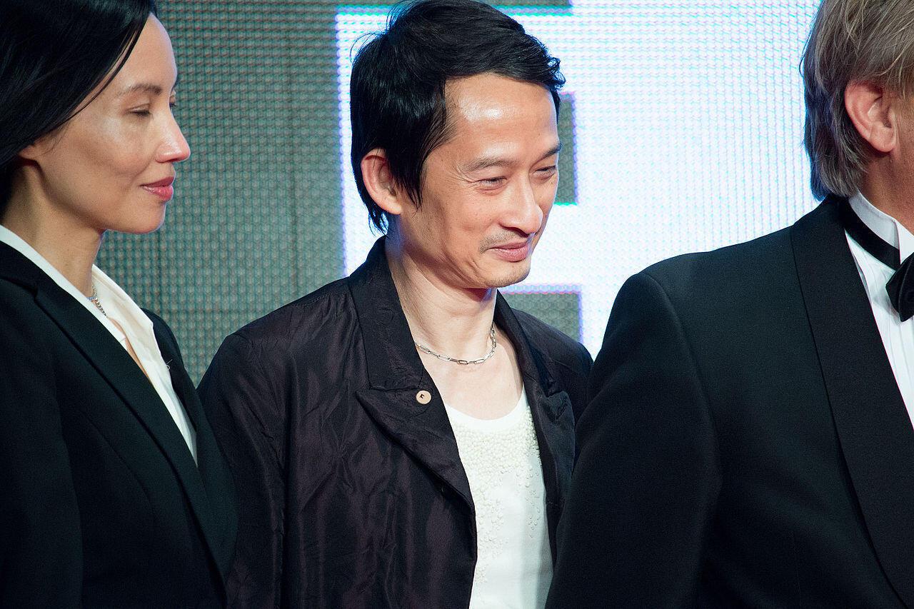 Đạo diễn Trần Anh Hùng tại LHP Quốc Tế Tokyo lần thứ 28. Ảnh chụp ngày 21/10/2015.