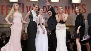 Movie stars at Cannes