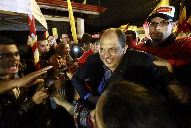 Luis Guillermo Solís, del Partido Acción Ciudadana (PAC), encabezó la primera vuelta.
