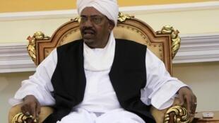 Sudan's President Omar Hassan al-Beshir in Khartoum