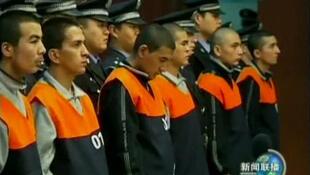 2009年新疆骚乱事件后受到审判的维吾尔族人