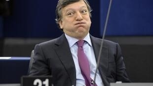 European Commission President Jose Manuel Barroso at the European Parliament in Strasbourg, 27 October, 2011.