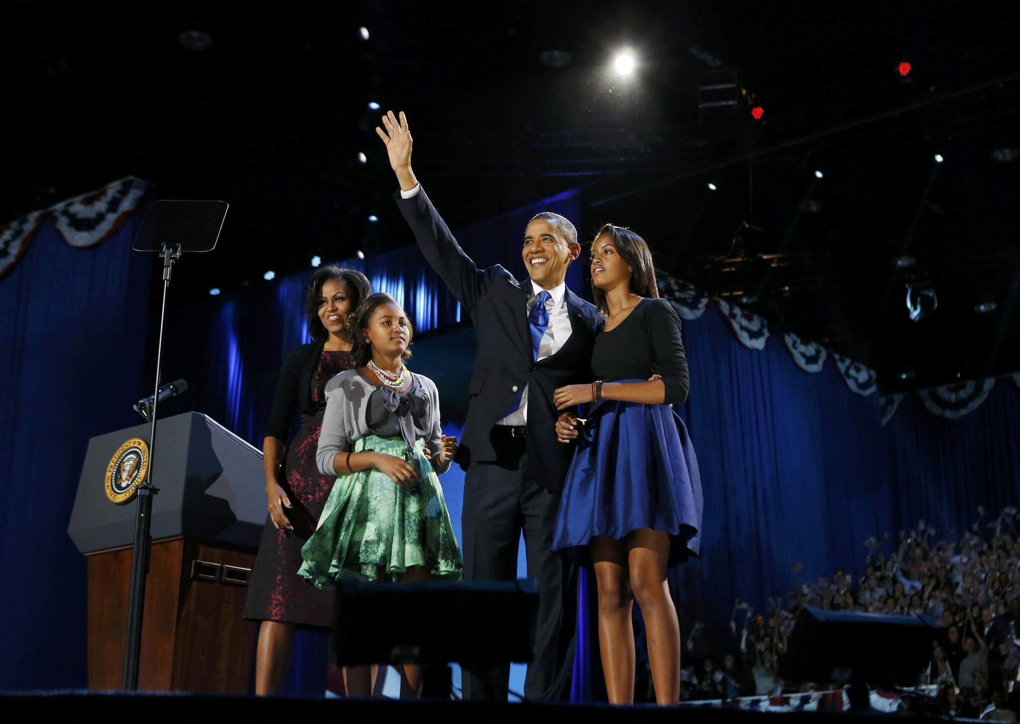 Barack Obama has been re-elected for an historic second term as US President.