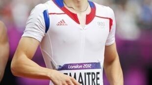 法国田径好手,欧洲百米冠军雷梅特(Christophe Lemaitre)为人低调,严肃。