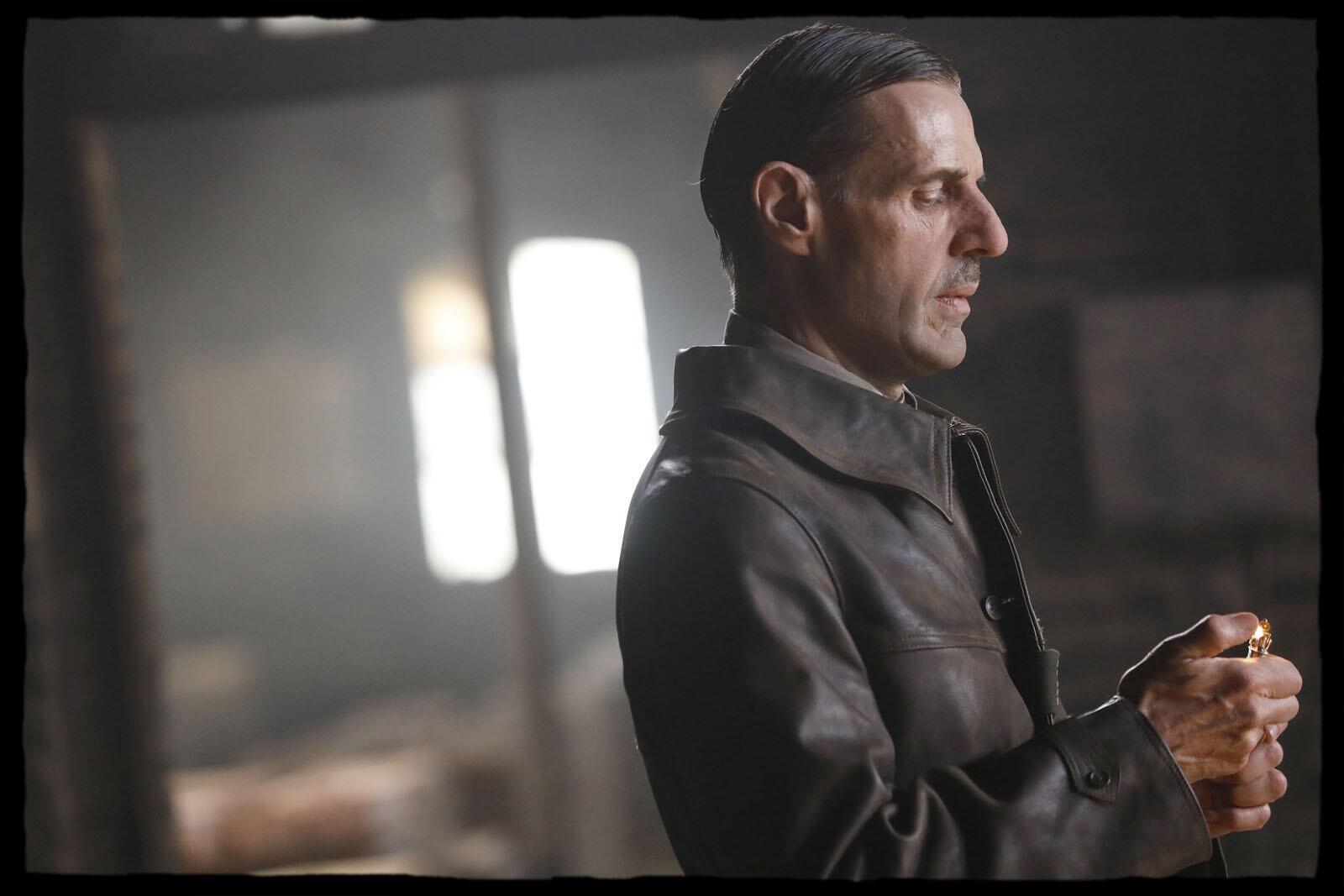 Lambert Wilson in the role of Charles de Gaulle.