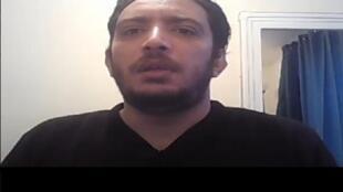 Le blogueur tunisien Yassine Ayari.
