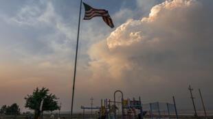 incendie canicule feux ouest américain usa
