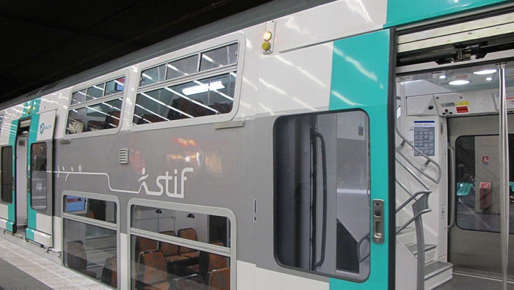 Imagem ilustrativa de trem da Linha RER.