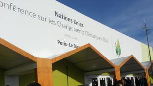 Entrée principale de la COP21.