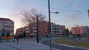 Blagnac town centre, near Toulouse, southern France