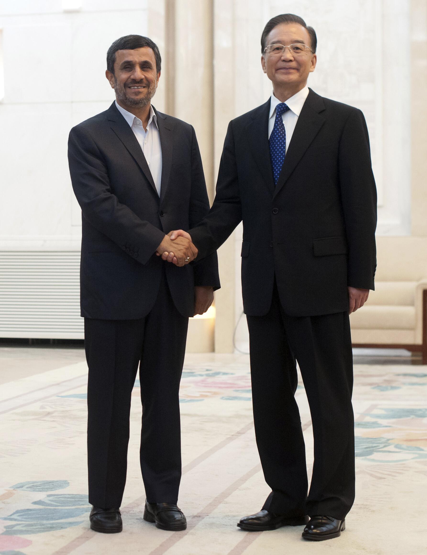 O primeiro-ministro chinês Wen Jiabao estará presente no encontro de chefes de Estado e de governo durante a Rio+20.