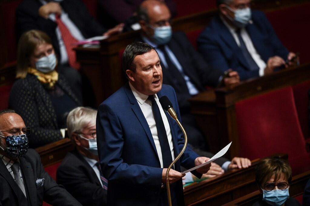 Le groupe des Républicains à l'Assemblée nationale lors d'une session de «Questions au gouvernement», le 6 octobre 2020.