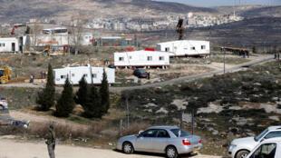 Israël a commencé à démanteler Amona, colonie de Cisjordanie au coeur d'une bataille politique et légale de plusieurs années. Le 6 février 2017.