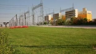 A Central Nuclear de Rudeshur, no Irã.