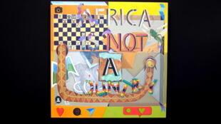 «Africa Is Not A Country», œuvre de Richard Mudariki (né au Zimbabwe, travaille en Afrique du Sud), présentée à AKAA 2018 sur le stand de la galerie sud-africaine Barnard.