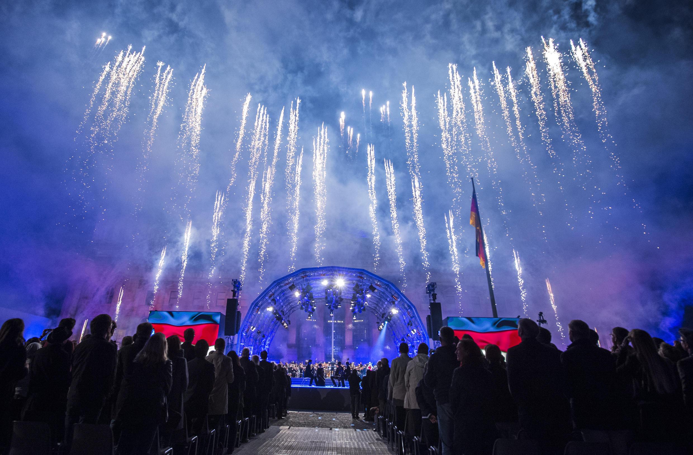 Người Đức rất thích pháo bông trong các dịp lễ hội.