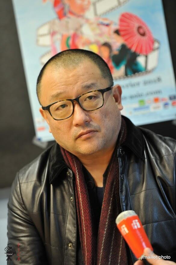 Đạo diễn Trung Quốc Vương Tiểu Soái tại Liên hoan Vesoul 2018.