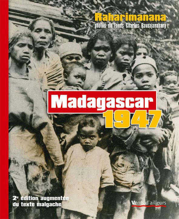 Couverture du livre de Jean-Luc Raharimanana «Madagascar 1947»