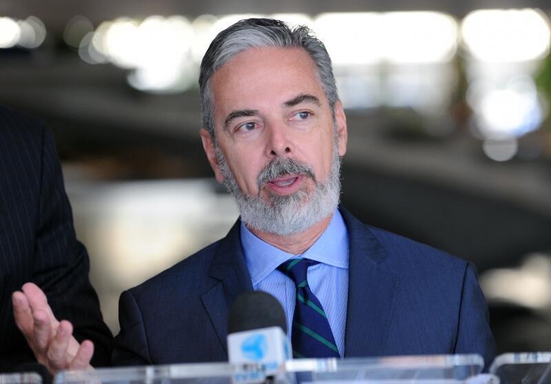 O ministro das Relações Exteriores, Antonio Patriota.