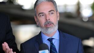 O ministro das Relações Exteriores, Antonio Patriota, participa da 18ª Conferência Industrial Argentina.