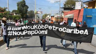 «Nou pap domi», Estamos vigilantes dizem manifestantes sobre crise política de Haiti