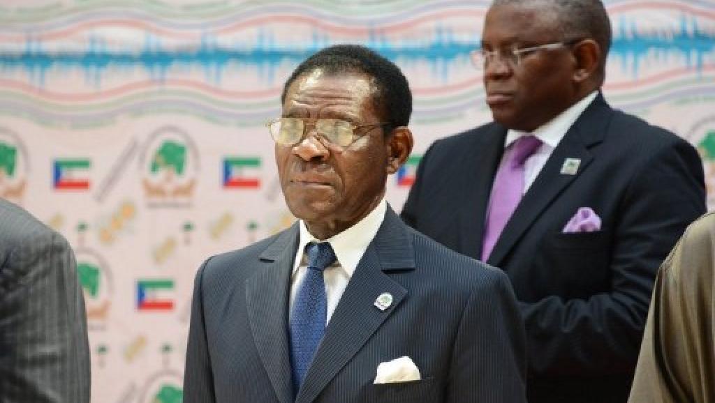 Presidente Teodoro Obiang Nguema da Guiné Equatorial à espera da vitória do seu partido no poder após eleições este domingo