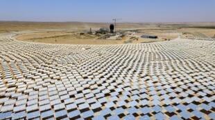 Le groupe EDF Energies Nouvelles, leader de la production d'énergie solaire en Israël, a ainsi 11 exploitations dans le désert du Negev (photo) et devraient lancer six autres sites d'ici la fin de l'année 2018.