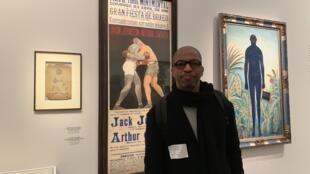 """Artista plástico guineense, na exposição  """"O modelo negro de Géricault a Matisse"""" no museu d'Orsay"""