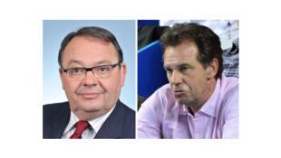 Patrick Mennucci (g) et Renaud Muselier.