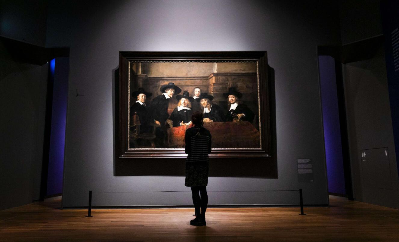 """Tác phẩm """"De Staalmeesters"""" vẽ vào năm 1662 tại Rijksmuseum"""