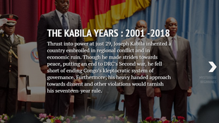 Joseph Kabila clings onto power after second term expires at the end of 2016