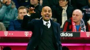 Kocin kungiyar Bayern Munich Pep Guardiola
