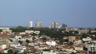 Accra, capitale du Ghana.