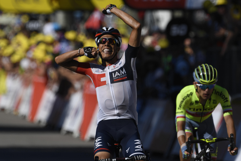 Pantano remporte la 15 étape devant Majka