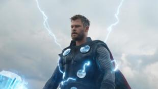 """Chris Hemsworth dans """"Avengers: Endgame""""."""