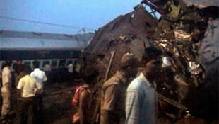 A passenger train derailed by Maoists militants earlier this year