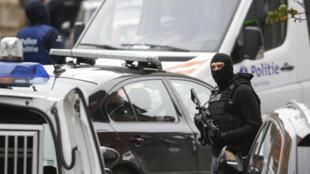 Deux suspects ont été arrêtés dans la commune bruxelloise de Molenbeek, le 20 et le 21 janvier 2016.
