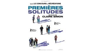 Affiche du film: «Premières solitudes» de Claire Simon.