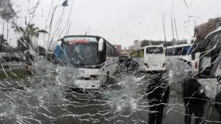سوء قصد در شهر دمشق علیه زوار شیعی
